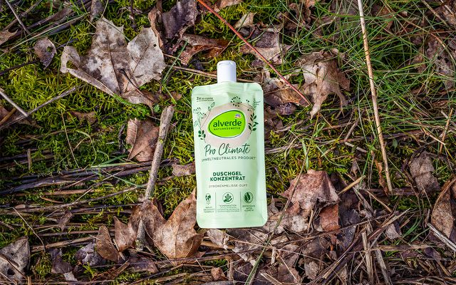 alverde ProClimate Duschgel umweltneutrale Produkte