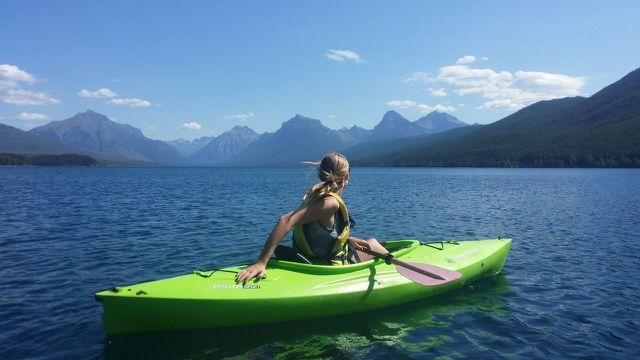 Wassersport bietet viele Möglichkeiten um sich in der Natur zu bewegen.