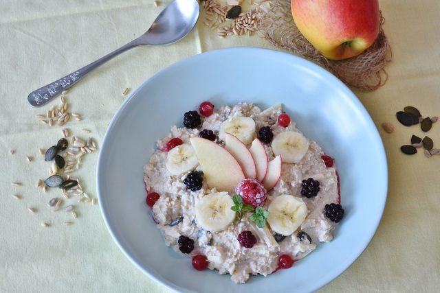 Porridge lässt sich auch problemlos vegan zubereiten.