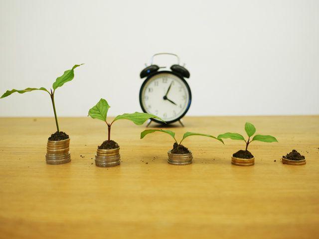 Eine Renten- oder Lebensversicherung ist momentan durch die geringen Zinsen wenig rentabel.