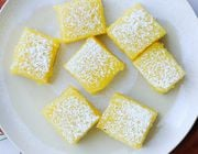 vegan lemon bar gluten free