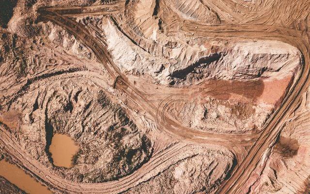 Offene Mine