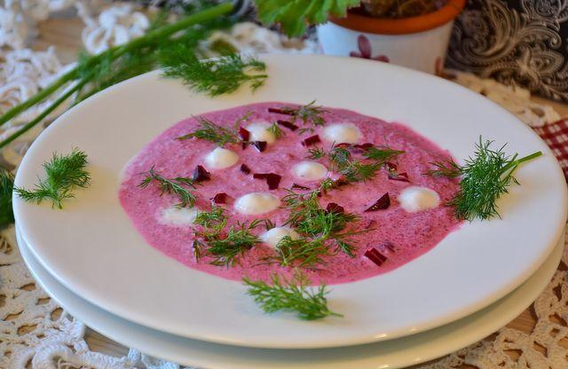 Rote-Bete-Suppe schmeckt zu jeder Jahreszeit.