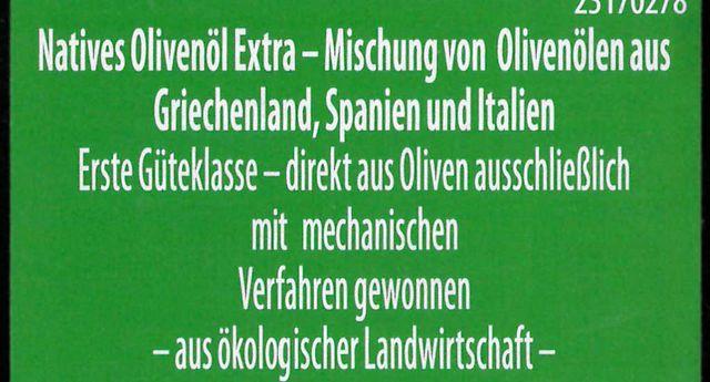 Gutes Olivenöl? Drei Pflichtangaben sind wichtig: Herkunftsland,