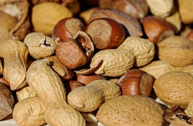Nüsse sind von Natur aus glutenfrei.