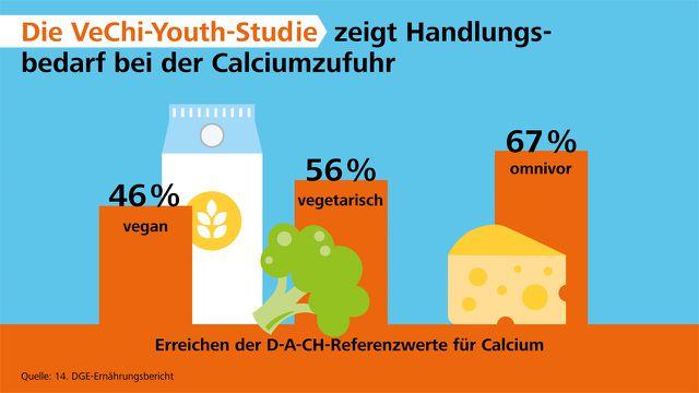 Egal welche Ernährungsform: Kinder sind mit Kalzium unterversorgt