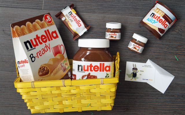 Osterbox Nutella