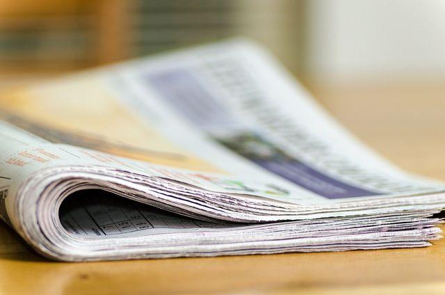 Zeitungen gehören nicht in die Toilette.