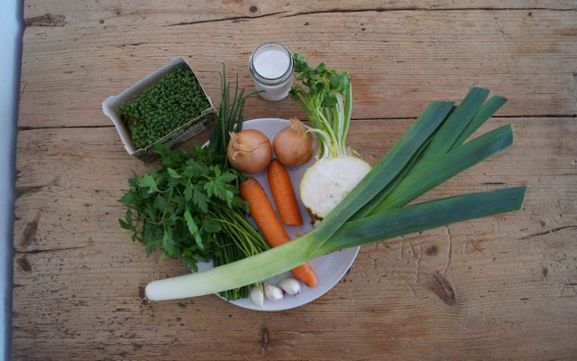 Vegetable stock recipe ingredients