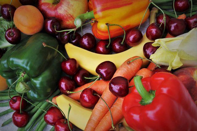 Mit unverarbeitetem Gemüse kannst du glutenfrei kochen.