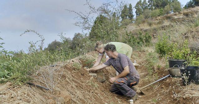Aus Ödland wird Bio-Land: Barbara und Erich Graf in Spanien