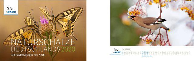 Kalender 2020: Naturschätze Deutschlands