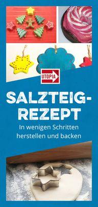 Salzteig-Rezept: In wenigen Schritten herstellen und backen