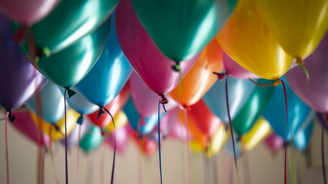 Podcast Geburtstagsfolge Ballons