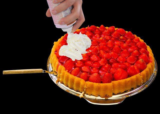 So könnte deine fertige Torte am Ende aussehen.