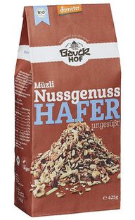 Müsli: Nussmüsli von Bauckhof