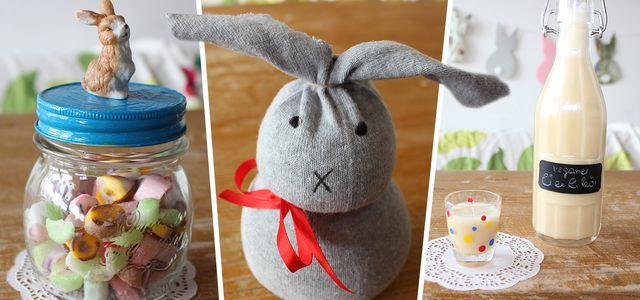 Ostergeschenke selber machen ღ 5 Ideen: Ostergeschenke basteln