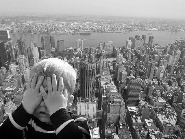 Eine typische Angstreaktion ist die Vermeidung der angstauslösenden Situation.