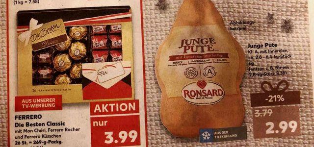 Junge Pute Kaufland Fleisch Preis