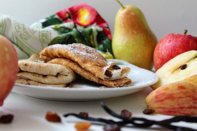 Apfelpfannkuchen sind nicht nur für Kleinkinder, sondern für die ganze Familie geeignet.