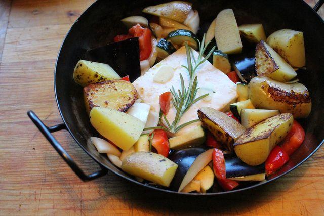 Dieses Gericht lässt sich gut vorbereiten und im Kühlschrank lagern