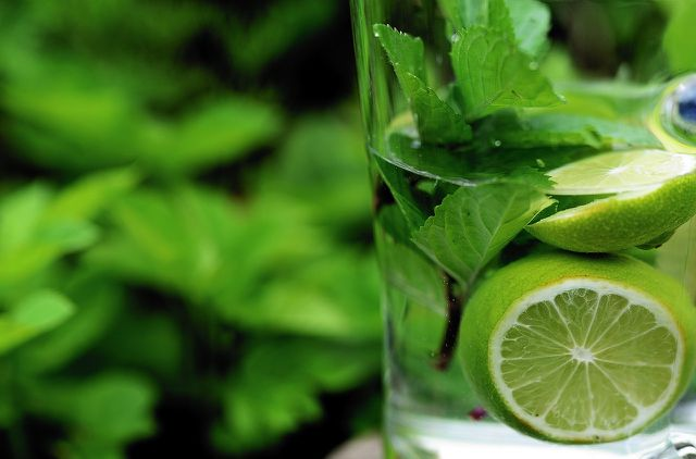 Fresh citrus fruits are essential for electrolytes