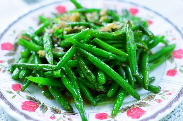 Eingekochte Bohnen machen sich wunderbar als Salat oder Beilage.