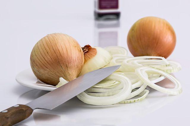 Zwiebeln sind die Grundzutat für die leckeren Röstzwiebeln