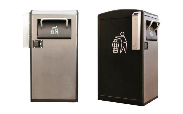 In Smart Cities werden auch die Mülleimer intelligenter