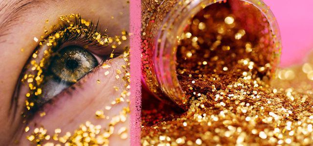 What is glitter made of? Environmental impact of plastic glitter