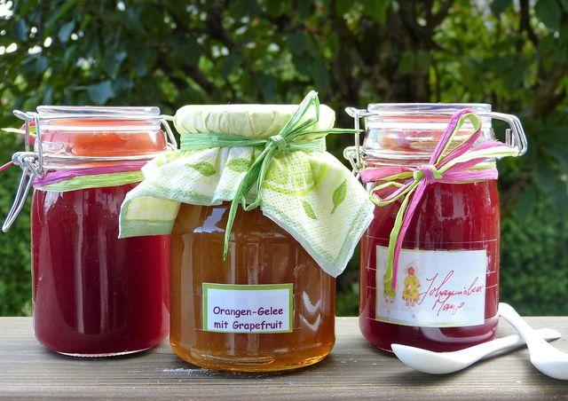 Selbstgemachte Marmeladen sind eigentlich immer ein leckeres Geschenk