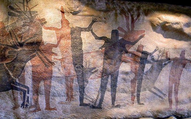 Paleo Cave Painting