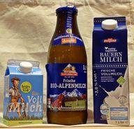"""""""Frisch"""" sind alle, """"Frischmilch"""" nur die Milch in der Mitte"""
