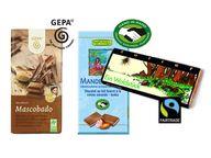 Fairtrade-Schokolade gibt es in vielfältiger Form