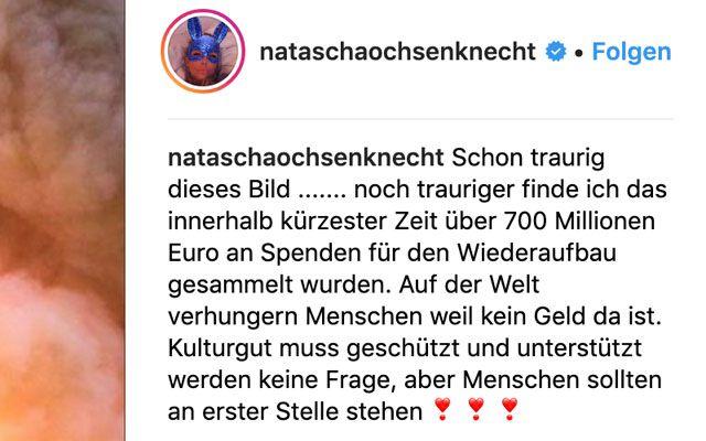 Notre-Dame Natascha Ochsenknecht