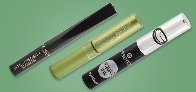 Öko-Test hat Eyeliner getestet. Unter anderem: L'Oréal, Alverde und Essence.