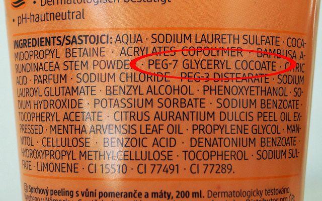 Inhaltsstoffe in Kosmetik: PEG/PEG-Derivate