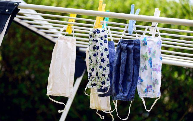 material mundschutz waschen