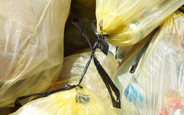 Rezyklat Gelber Sack Plastik vermeiden
