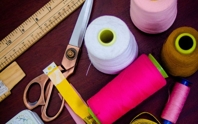 DIY heating pad cherry pit pillow sewing instructions