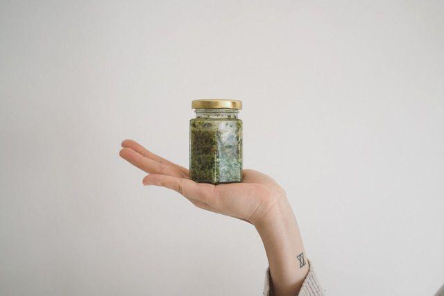 Green seeds result in green pumpkin seed butter