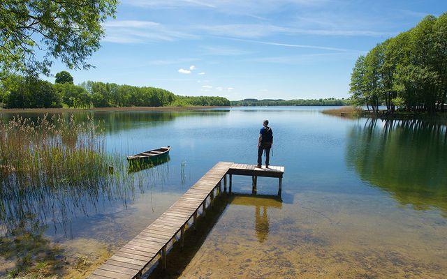 Urlaub in Osteuropa, etwa in dieser Seenlandschaft in den Masuren (Polen) Urlaub in Osteuropa