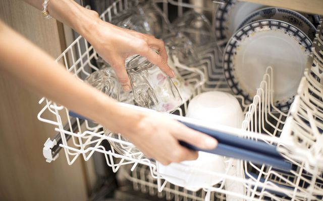 Household water conservation: dishwasher
