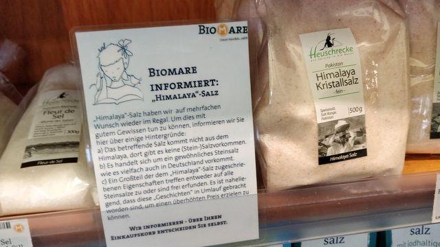 Biomarkt, himalayasalz