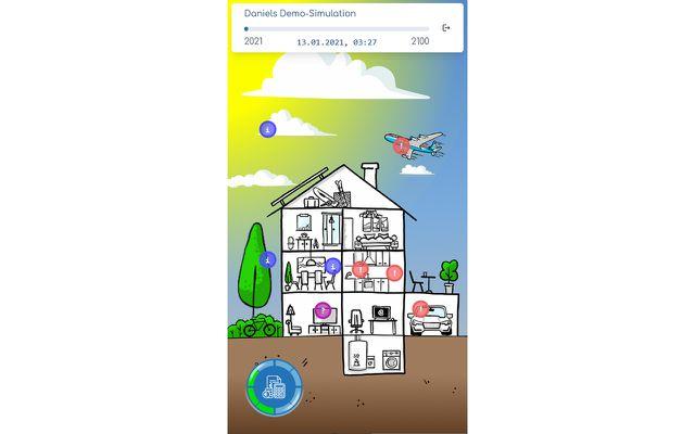 Screenshot Sciara App Haus