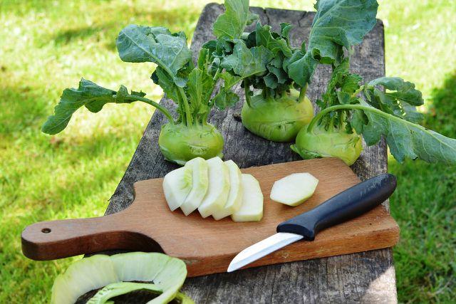 Kohlrabi ist ebenfalls ein Gemüse mit eventuell hohen Nitritwerten.