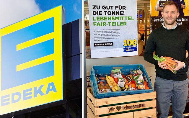 Edeka Dirnberger Kiste Lebensmittel