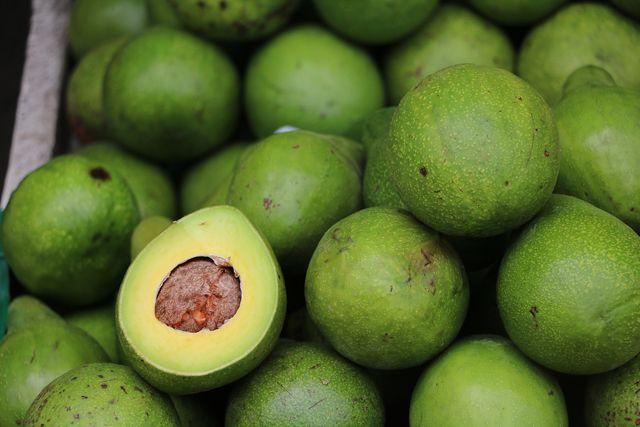 Häufig werden Avocados aus Mexiko importiert