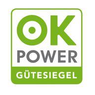 ok-power Gütesiegel