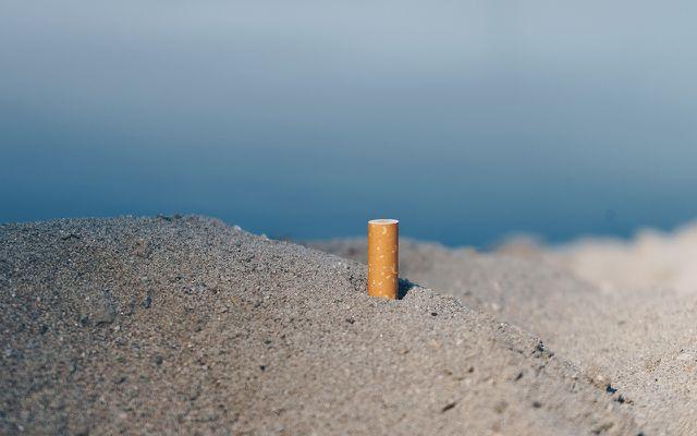 verstecktes Mikroplastik: Zigarettenkippen